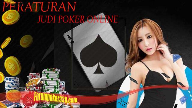 Peraturan Di Judi Poker Online